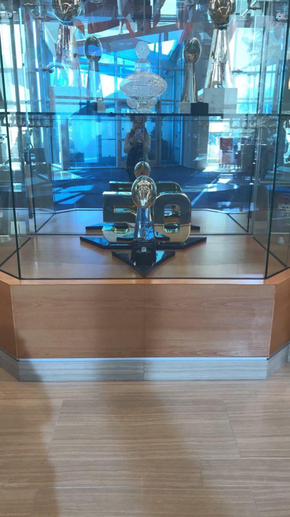 Broncos Trophy Display