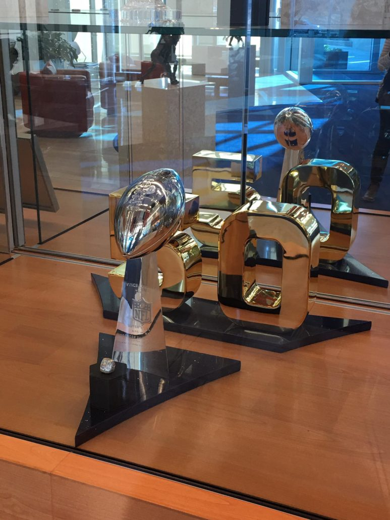Broncos Superbowl Display