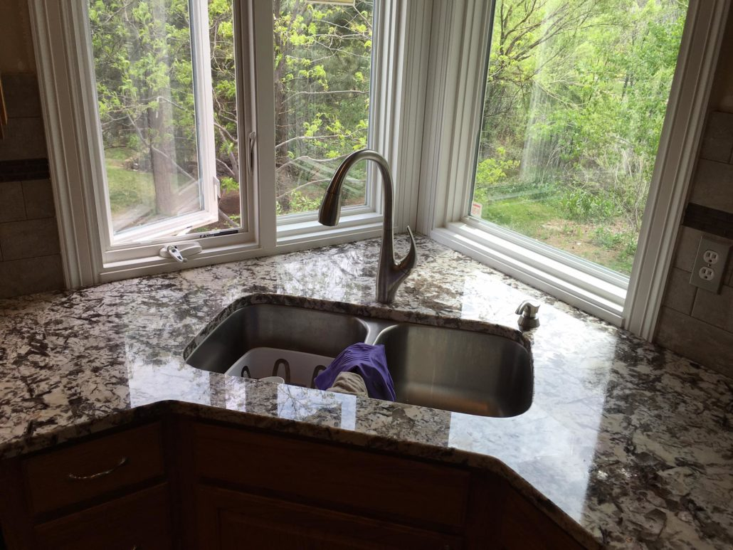 Corner Sink and Window